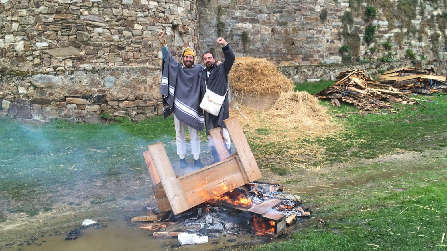 Granaders del Regiment Ultònia durant els setges d'Astorga