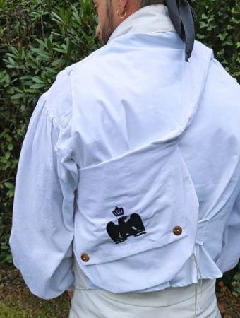 bolsa riñonera francesa recreación