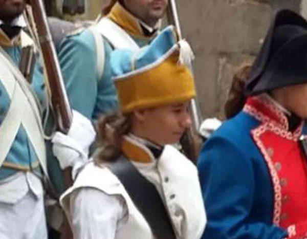 Barret quarteler Regiment Ultònia