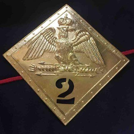 placa shako 2ème